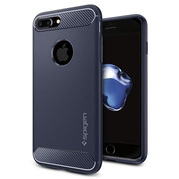 Spigen Rugged Armor, midnight blue - iPhone 7+/8+
