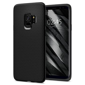 Spigen Liquid Air, matte black - Galaxy S9