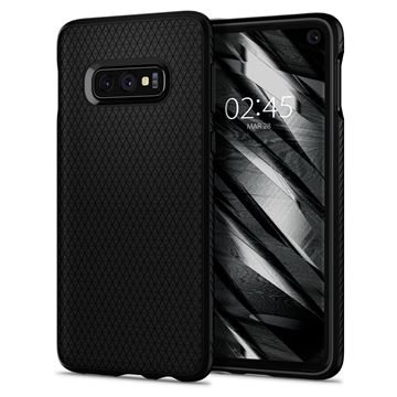 Spigen Liquid Air, matte black - Galaxy S10e