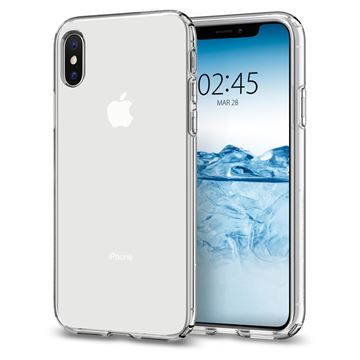 Spigen Liquid Crystal, clear - iPhone XS/X
