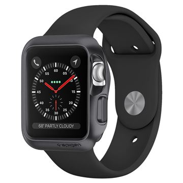 Spigen Slim Armor, gray - Apple Watch 3/2/1 42mm
