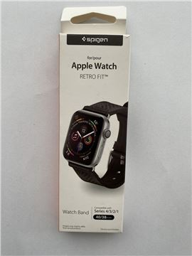 Spigen Retro Fit, black - Apple Watch 40/38 mm