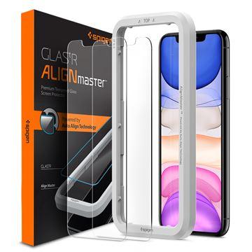 Spigen Align Glas.tR 2 pack - iPhone 11/XR
