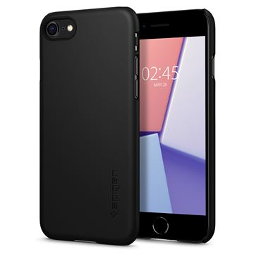 Spigen Thin Fit, black - iPhone SE/8/7