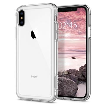 Spigen Crystal Hybrid, clear - iPhone XS/X