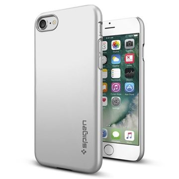 Spigen Thin Fit, satin silver - iPhone 7