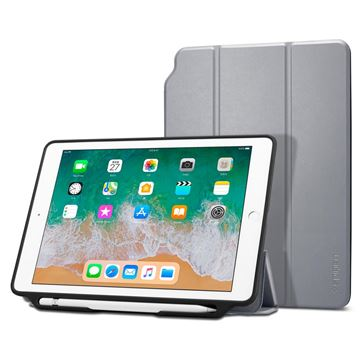 Spigen Smart Fold 2, gray - iPad 9.7