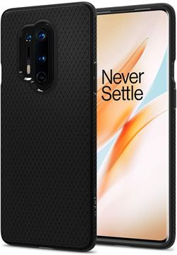 Spigen Liquid Air, black - OnePlus 8 Pro