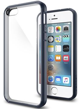 Spigen Ultra Hybrid, metal slate - iPhone SE/5s/5