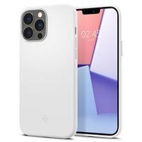 Spigen Silicone Fit, white - iPhone 13 Pro
