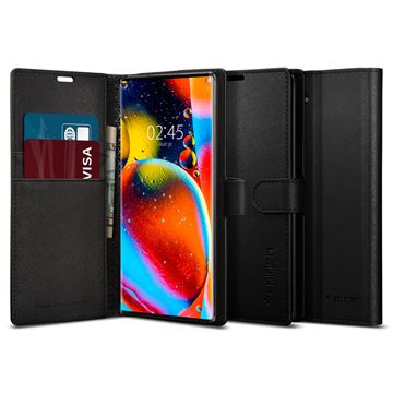 Spigen Wallet S, black - Galaxy Note10
