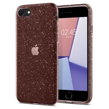 Spigen Liquid Crystal Glitter, rose -iPhone SE/8/7