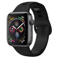 Spigen Silicone Fit, black -Apple Watch 45/44/42mm