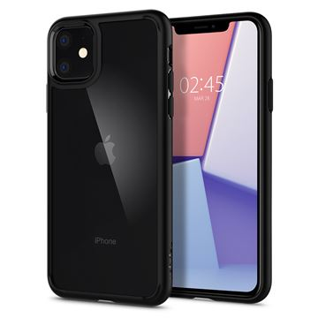 Spigen Ultra Hybrid, black - iPhone 11