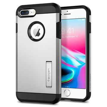 Spigen Tough Armor 2, silver - iPhone 7+/8+