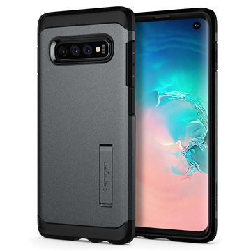 Spigen Tough Armor, gray - Galaxy S10