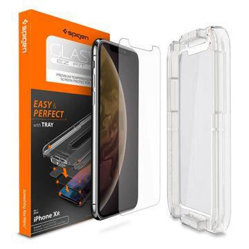 Spigen Glas.tR EZ Fit - iPhone XR