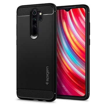 Spigen Rugged Armor, black - Redmi Note 8 Pro