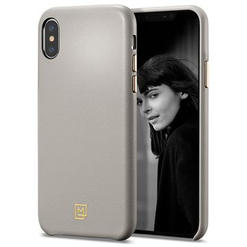 Spigen La Manon Câlin, beige - iPhone XS/X