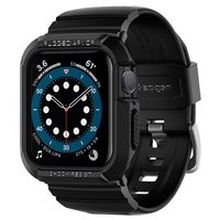 Spigen Rugged Armor Pro, black - A.Watch 5/4 40 mm