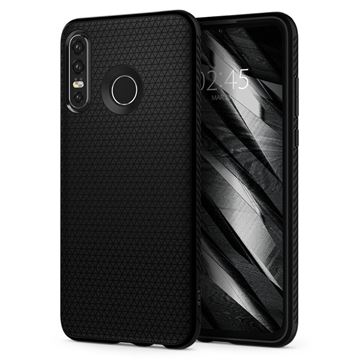 Spigen Liquid Air, black - Huawei P30 Lite