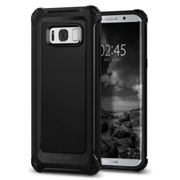 Spigen Rugged Armor Extra, black - Galaxy S8