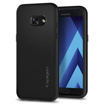 Spigen Liquid Air, black - Galaxy A3(2017)