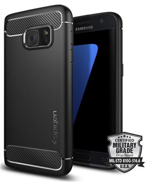 Spigen Rugged Armor, black - Galaxy S7