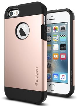 Spigen Tough Armor, rose gold - iPhone SE/5s/5