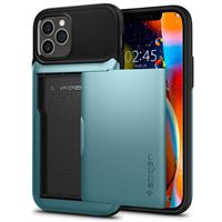 Spigen Slim Armor Wallet, mint - iPhone 12/Pro
